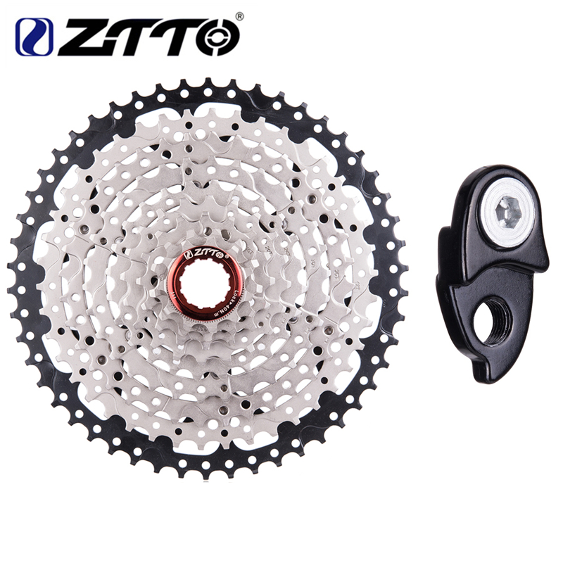 ZTTO Bicycle Freewheel 9 Speed 11 50T Mountain Bike Cassettes 27s MTB Bicycle Freewheel Compatible M430
