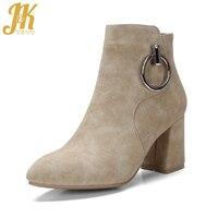J & Kยี่ห้อออกแบบโลหะแหวนรองเท้าข้อ