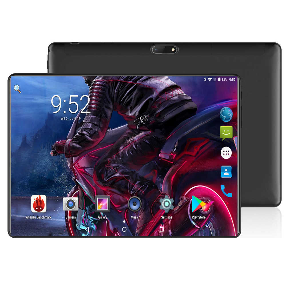 Super Edition Tempered 2.5D Glass 10 inch tablet Android 8.0 Octa Core 4GB RAM 64GB ROM 1280x800 HD IPS Screen GPS Media Pad