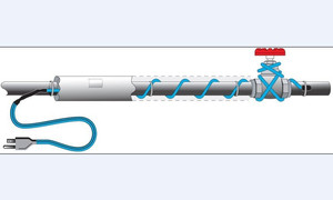Image 5 - 16 w/m przewód do ogrzewania przeciw zamarzaniu ochrona przed mrozem przewód grzejny 220v z kontrolerem mini intelligent