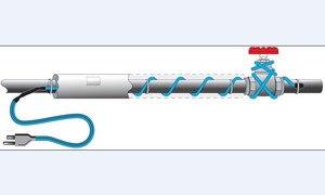 Image 5 - 16 wát/mét Chống đóng băng ống làm nóng cáp ống ngăn đông 220 V làm nóng Cáp Mini inteligent Bộ điều khiển