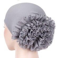 Casquette adaptée pour femme musulmane, coiffe hijabs, couvre-chef à poils longs, souple et confortable, chapeau islamique, pour chimiothérapie