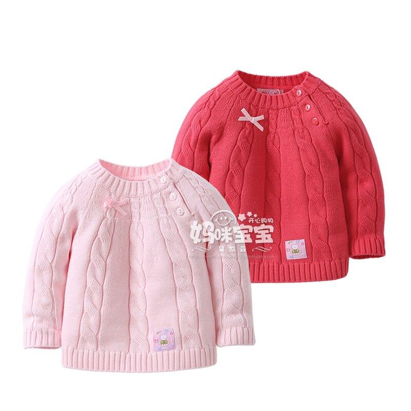 0dbc023f7f9c1 Nouveau 2016 printemps automne bébé filles chandail enfants vêtements bébé  manteau infantile mignon pull tricoté chandail enfants vêtements tricots