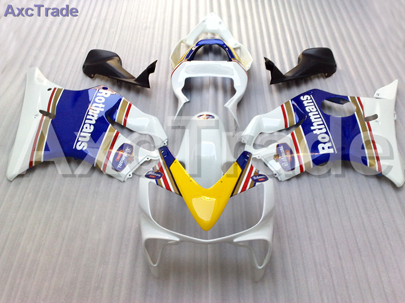 Moto Injection Mold Motorcycle Fairing Kit For Honda CBR600RR CBR600 CBR 600 F4i 2001-2003 01 02 03 Bodywork Fairings White Blue gray moto fairing kit for honda cbr600rr cbr600 cbr 600 f4i 2001 2003 01 02 03 fairings custom made motorcycle injection molding
