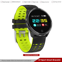 X7 Smart Bracelet Activity Tracker Pedometer Exhibited Clocks D intelligent Arterial Pressure smartband phone Fitness