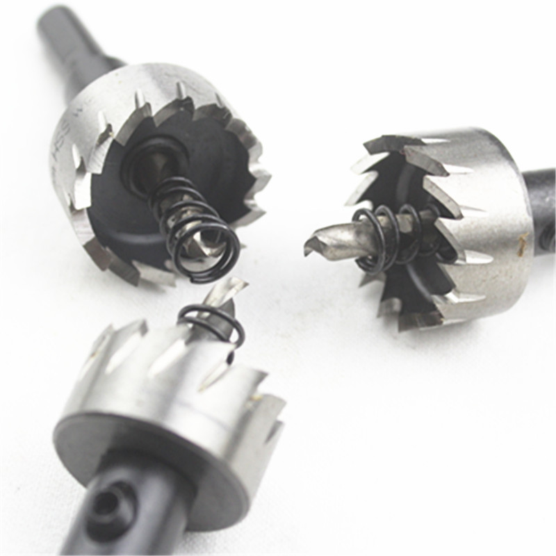 Top Quality HSS Holesaw Dia 12-80mm HSS Core Drill Bit  Metal Cutter Cutting Hole Saw Set