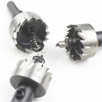 Top Quality HSS Holesaw Dia 12-80mm HSS Core Drill Bit Metal Cutter Cutting Hole Saw Set image