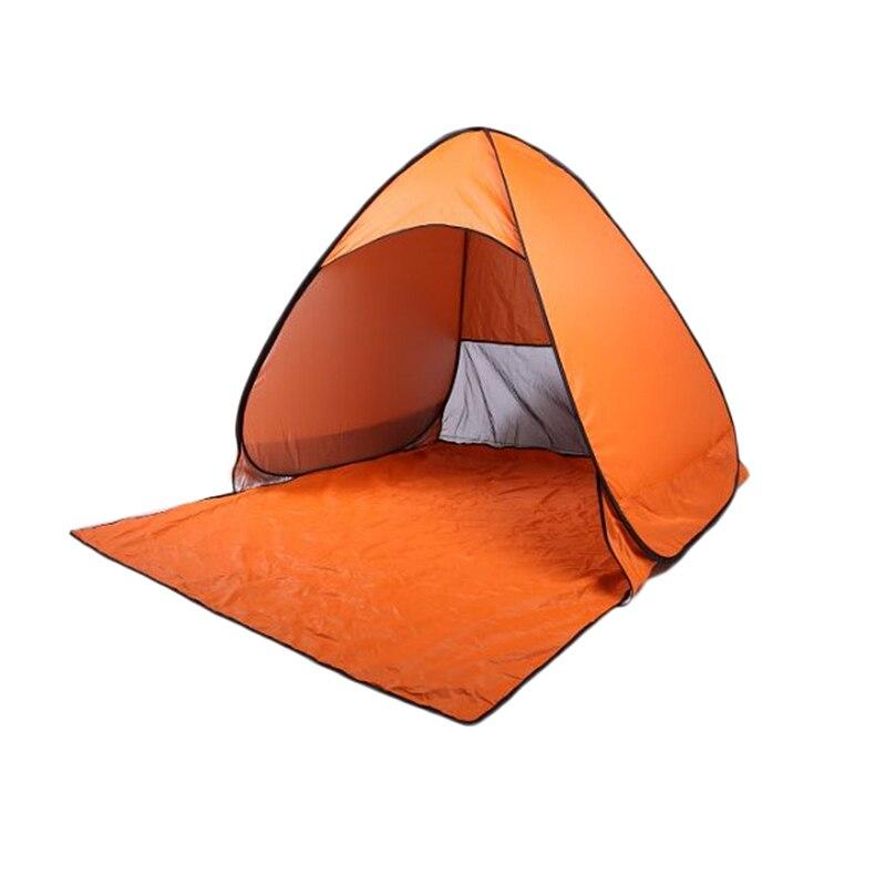 Ultralight Pieghevole Tenda Pop Up Automatico Aperto Tenda Tenda Della Famiglia Turistico Di Pesce Di Campeggio Spiaggia Tenda Anti-uv Russia Trasporto Libero Xh8z
