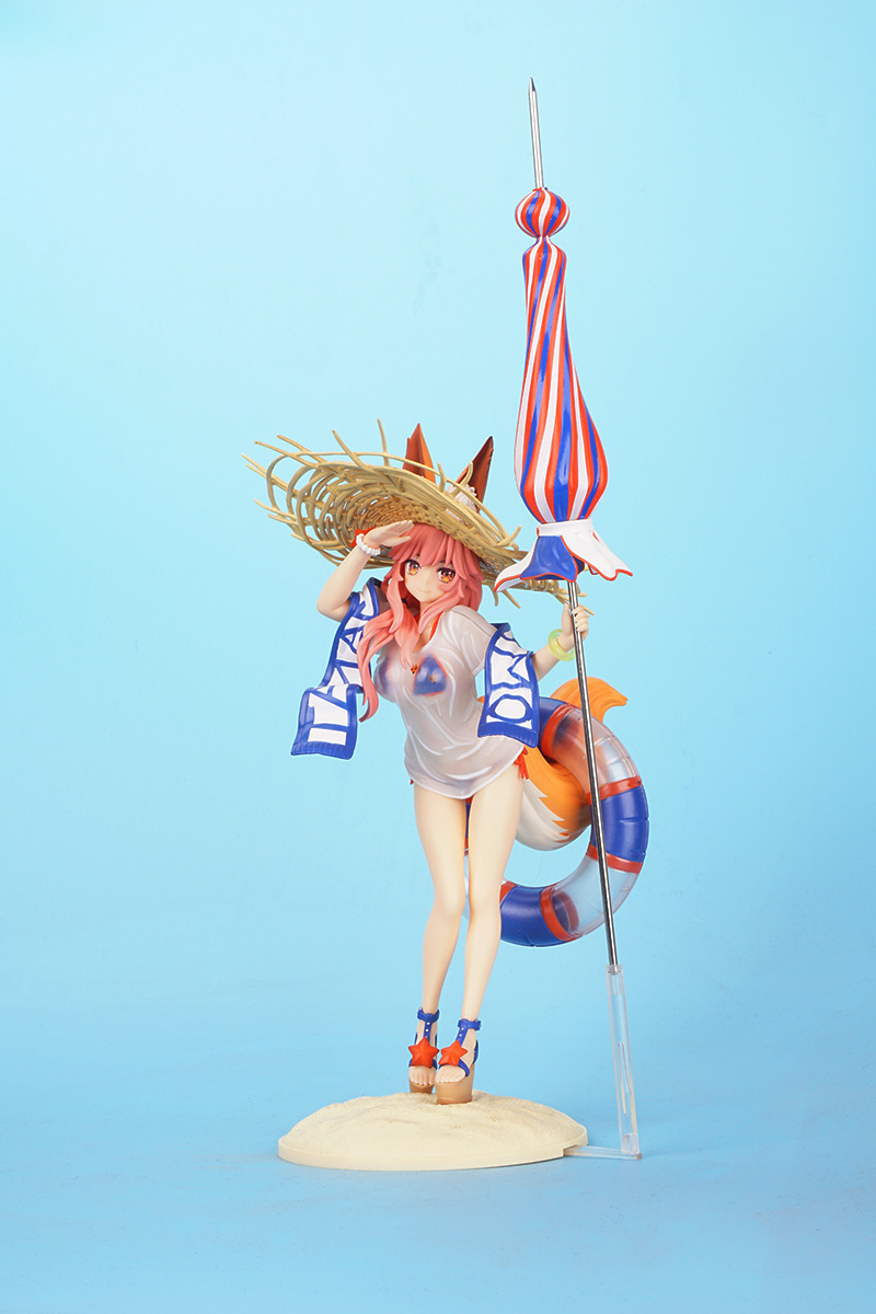 Fate/Grand Order Tamamo No Mae Action Figure 1/6 scale painted figure Swimsuit Ver. Tamamo No Mae PVC figure Toy fate extra ccc tamamonomae 1 7 scale painted figure informal dress ver caster pvc action figure collectible model toy 25cm