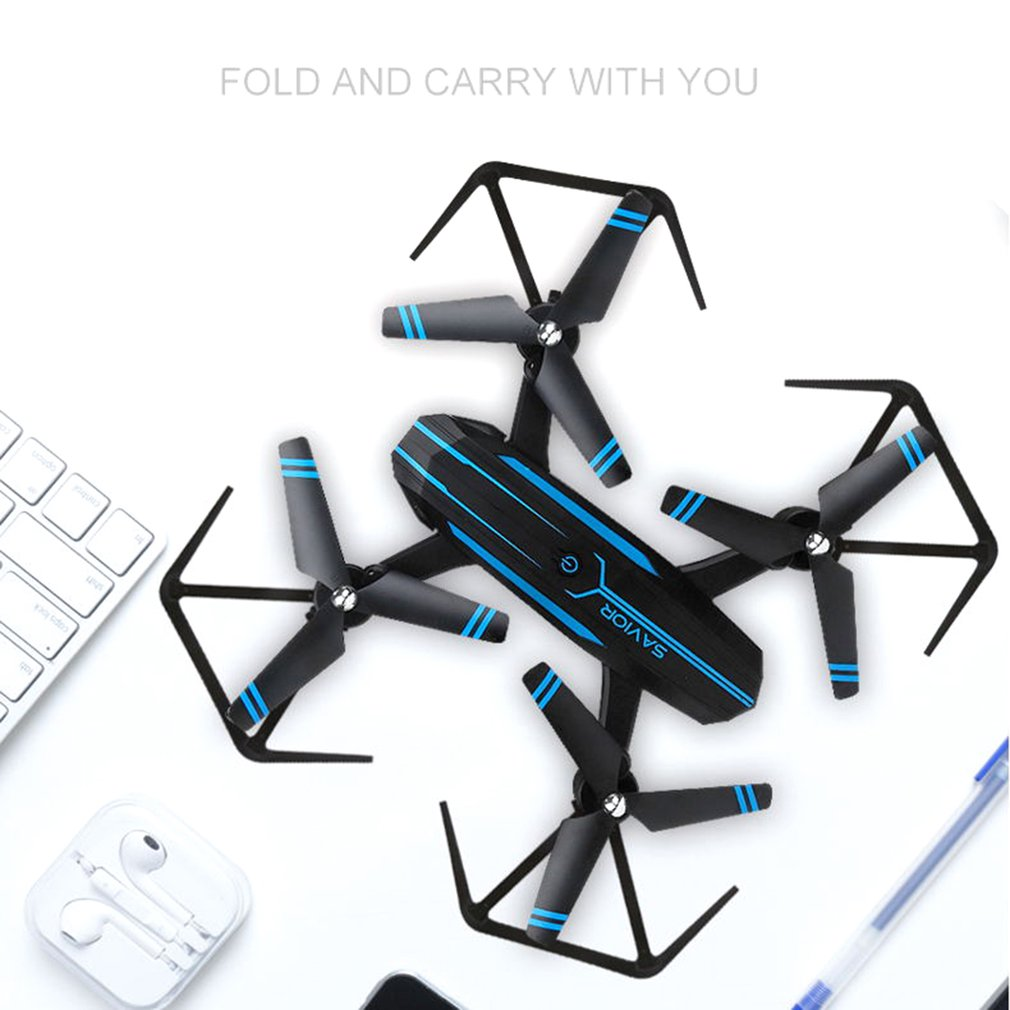 Smart Folding UAV Headless font b Drone b font APP Remote WiFi 3D Roll Over One