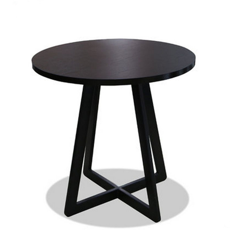Round Wooden Dining Table DIA70*H70 CM