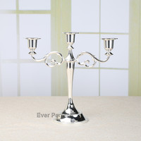 5 Lights Metal Candle Holder Candle Stand Candelabra 26cm Tall For Wedding Christmas Event Supplies
