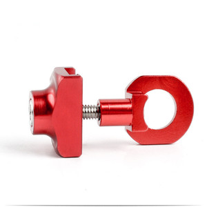Image 2 - Bicycle Chain Adjuster Tensioner Fastener Aluminum Alloy Bolt For BMX Fixie Bike Single speed Bicycle Bolt Screw