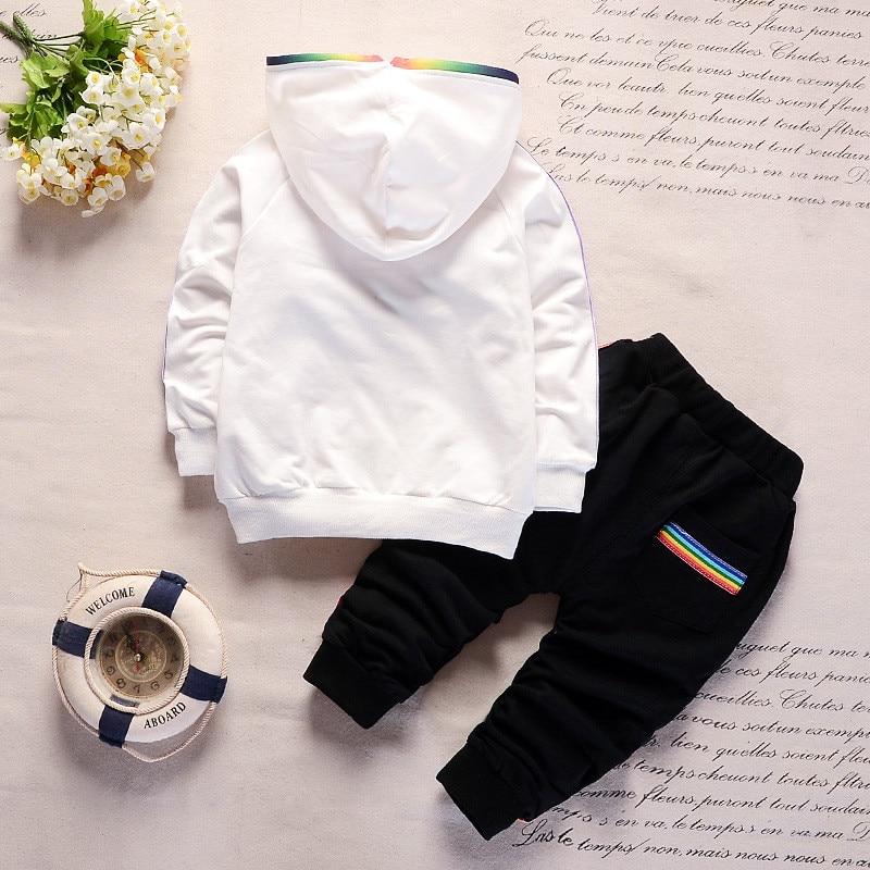 cbcb13e8e BibiCola baby boys clothing set autumn cotton hoodies t shirt tops+ ...