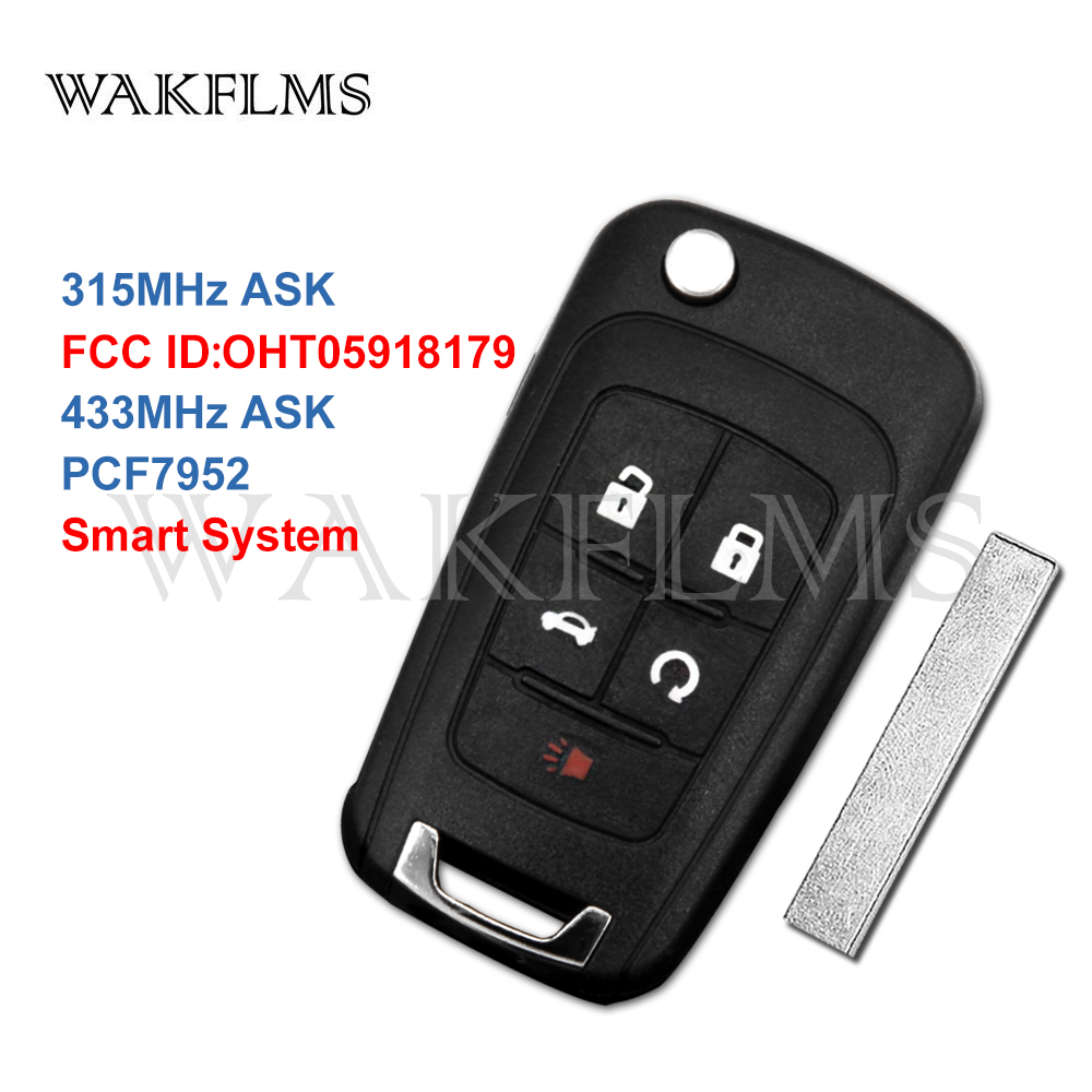 NEW OEM CASE SHELL FOR CHEVY MALIBU CAMARO CRUZE SMART KEY PROXIMITY REMOTE