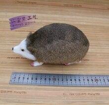 creative simulation Hedgehog  toy polyethylene & furs white face Hedgehog doll gift about 20x9x10cm