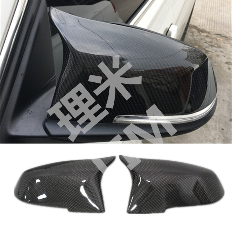 цены For BMW 1 2 3 4 Series F20 F21 F22 F23 F30 F31 F32 X1 E84 Carbon Fiber Mirror Wing Mirror Cover Replacement Car Accessories