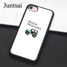 Juntsai Teen Wolf Stiles para iPhone 6 6s Plus teléfono caso cubierta suave de TPU fundas traseras para iPhone X 6S 7 8 Plus 5 5S SE Coque