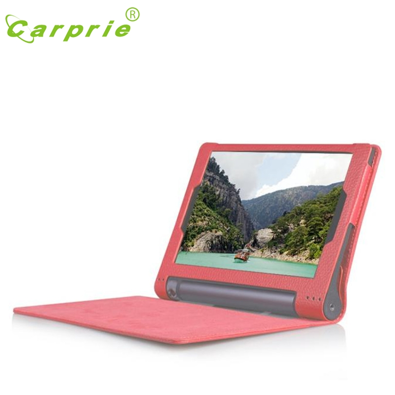 CARPRIE Leather Case Stand Cover for 10.1 Lenovo Yoga Tab 3 10 X50L X50F Tablet RD Mar1 MotherLander
