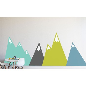 Moving Mountains Decal Wall Stickers For Kids Unique Bedroom Home Decor Art Vinyl DIY Self adhesive Nursery Decals Murals LC595