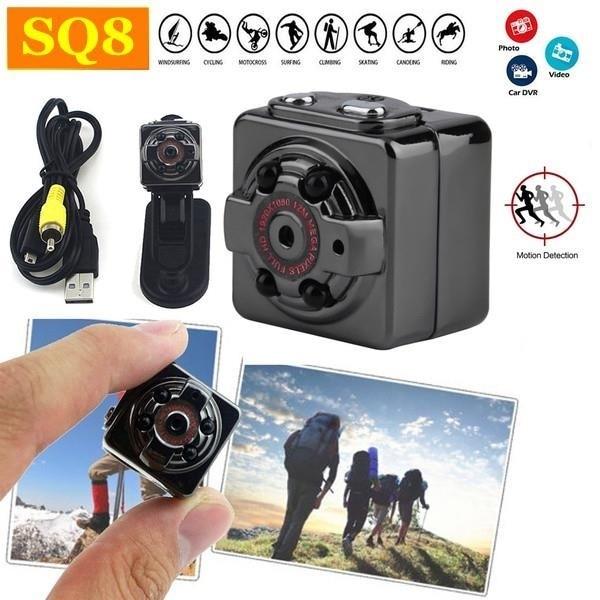 Mini Camera SQ8 HD 1080P Night Vision Camcorder Car DVR Sport DV Video Recorder USB Micro Camera