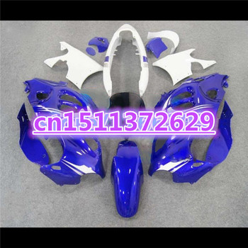100%new Fairings for A GSX750F 600F Katana 1997 98 99 00 01 02 03 04 2005 GSX 600 F 2005 blue white fairing-Dor for SUZUKI D image