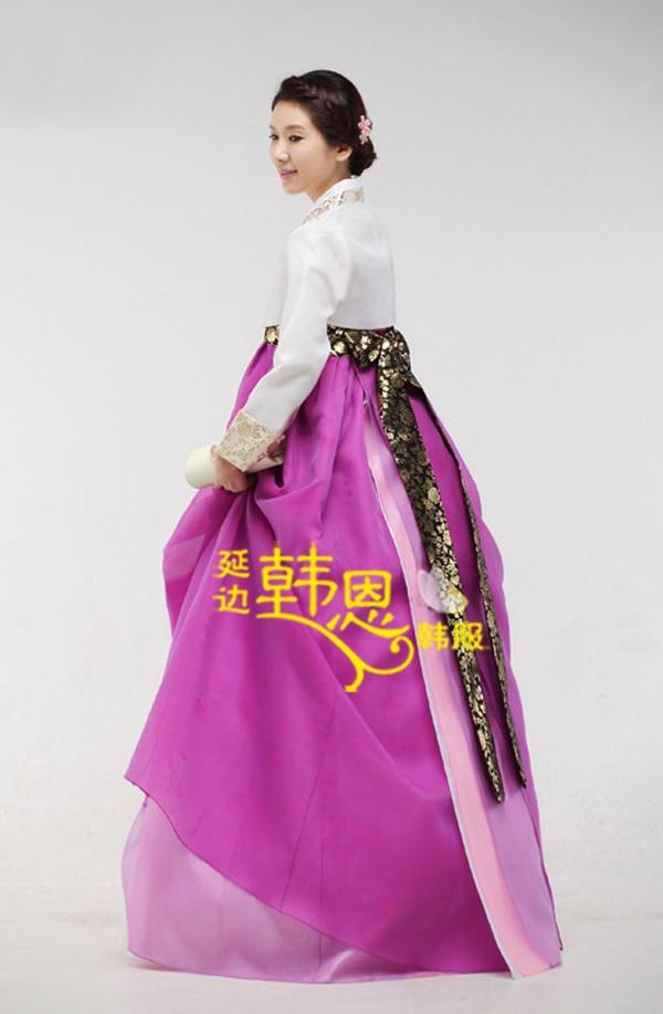 Dorable Vestido De Boda Coreano Tradicional Imágenes - Ideas de ...