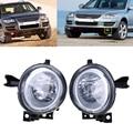 Hight Quality Front Left&Right Fog Lamp LED Daytime Running Lights For Volkswagen Touareg 2003 2004 2005 2006 2007 2008 2009