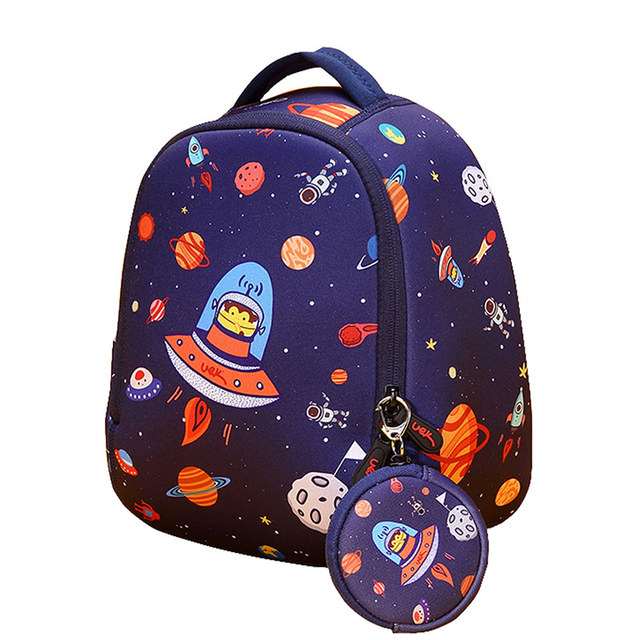 3D School Bag Cartoon Kindergarten Children's Bags 1-3 Years Old Korean  Cute Shoulders Bag