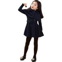 Baby Girl Jackets Dress Set Autumn Winter New Kids Clothes Casaco Coat Sets Vetement Fille Children Clothing Infantil Suit