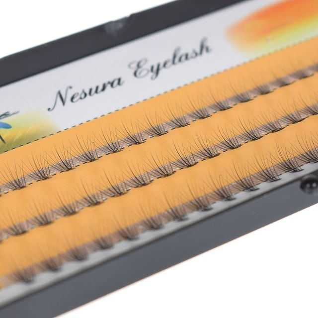 1 Box 0.07 C  Individual Wave Eyelashes Natural Long False Eyelashes Fake Artificial Eyelash Extension Eye Makeup Beauty Tool 2