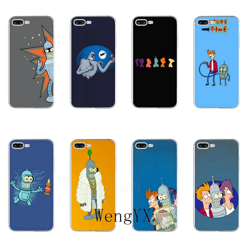 WengYX fun tv series show Futurama poster silicone Soft phone case For Huawei Mate 7 8 9 10 lite Pro Y3 Y5 Y6 II Pro Y7 GR5 2017