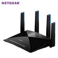 NETGEAR R9000 Nighthawk X10 Smart WiFi Router AD7200(800+1733+4600Mbps) 802.11ac/ad Quad-Stream Wave2 USB3.0*2 Multi Language