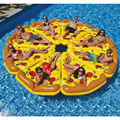 185cm Inflatable Giant Pizza Water Pool Float Floating Fun Toys For Swimming Summer Party Island Buoy Raft Lounger Toy Pontoon