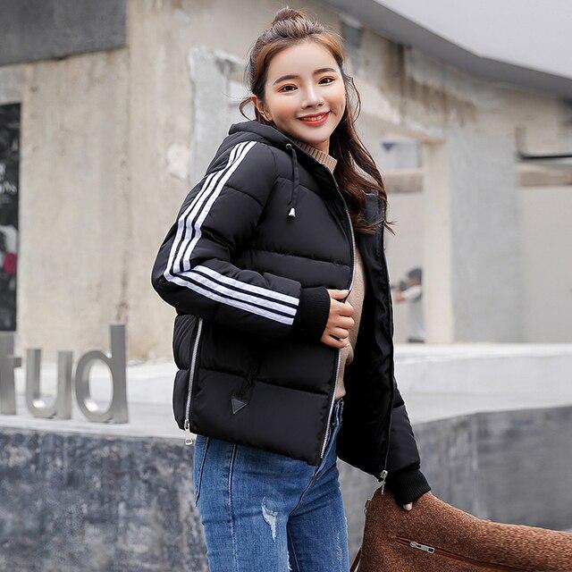 Survêtement Veste D'hiver Hiver Design Manteau Nouveau Dans Femmes Automne Doudoune Parkas 2018 Femme r6vRqrCw