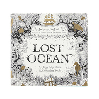Secret Garden serie KAYıP OKYANUS yetişkin Stres Rahatlatmak Için Öldür Zaman Boyama Çizim boyama boyama kitapları Kitap