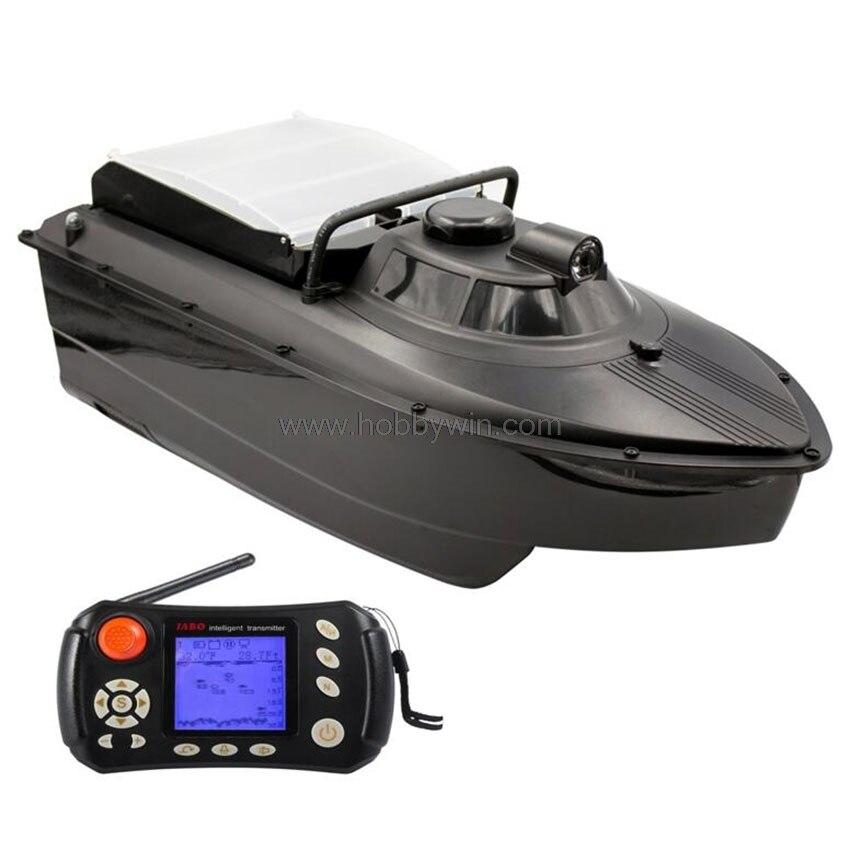 JABO 2CG Navigazione Automatica Bait Boat Sonar fishfinder Acqua di rilevamento di profondità Subacquea contorno display 2.4G RTR