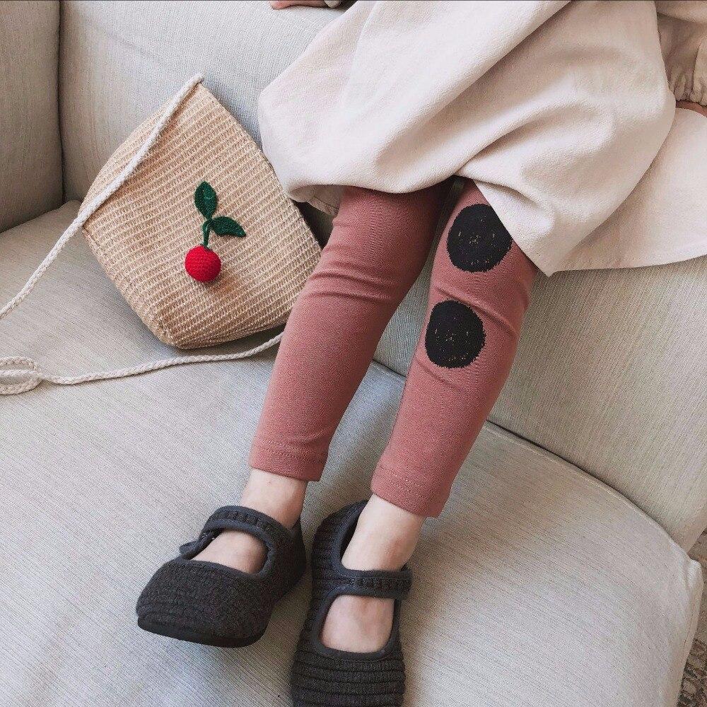 Celveroso Kinder Leggings Mädchen Hosen 2018 Marke Kinder Hose Baby Mädchen Leggings Dot Gedruckt Kinder Hosen Für Mädchen Kleidung NüTzlich FüR äTherisches Medulla