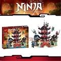 737 unids mini trueno sworosman templo de airjitzu figuras ninja building blocks juguetes bozhi brikcs 105 compatible con lego