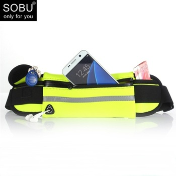2021 Fashion Waist Pack Men Women Waterproof Phone Belt Nylon Casual Small Bag For Traveling Running Sport Belly Bags 1