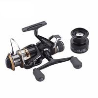 Carp Spinning Fishing Reels Left Right Handle Metal Spool 9 1BB Stainless Steel Shaft Rear Drag