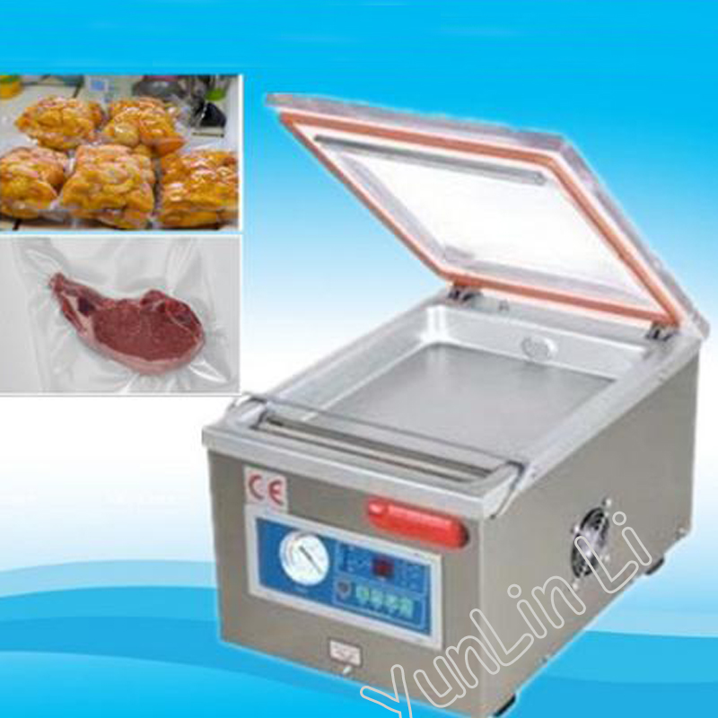 Electronic Vacuum Sealer Aluminum Bags Shrinking Sealing Machine DZ-260 Plastic Package Food,Document,Medical взрослое