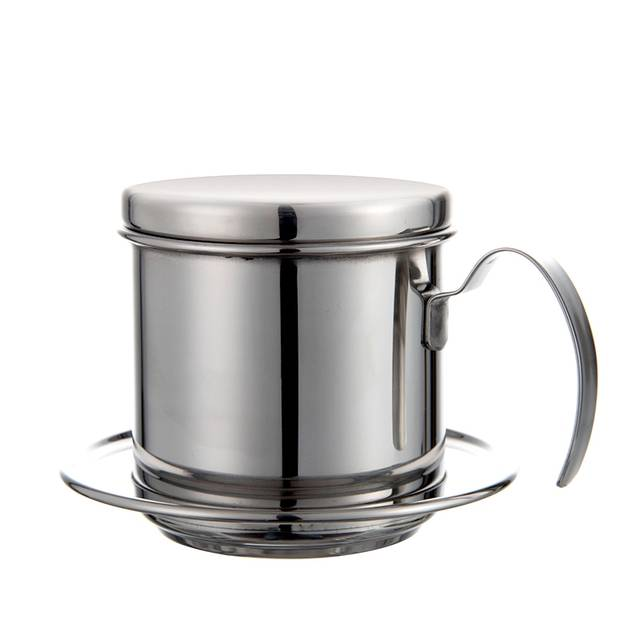Online Shop Stainless Steel Vietnam Coffee Pour Over Dripper Filter