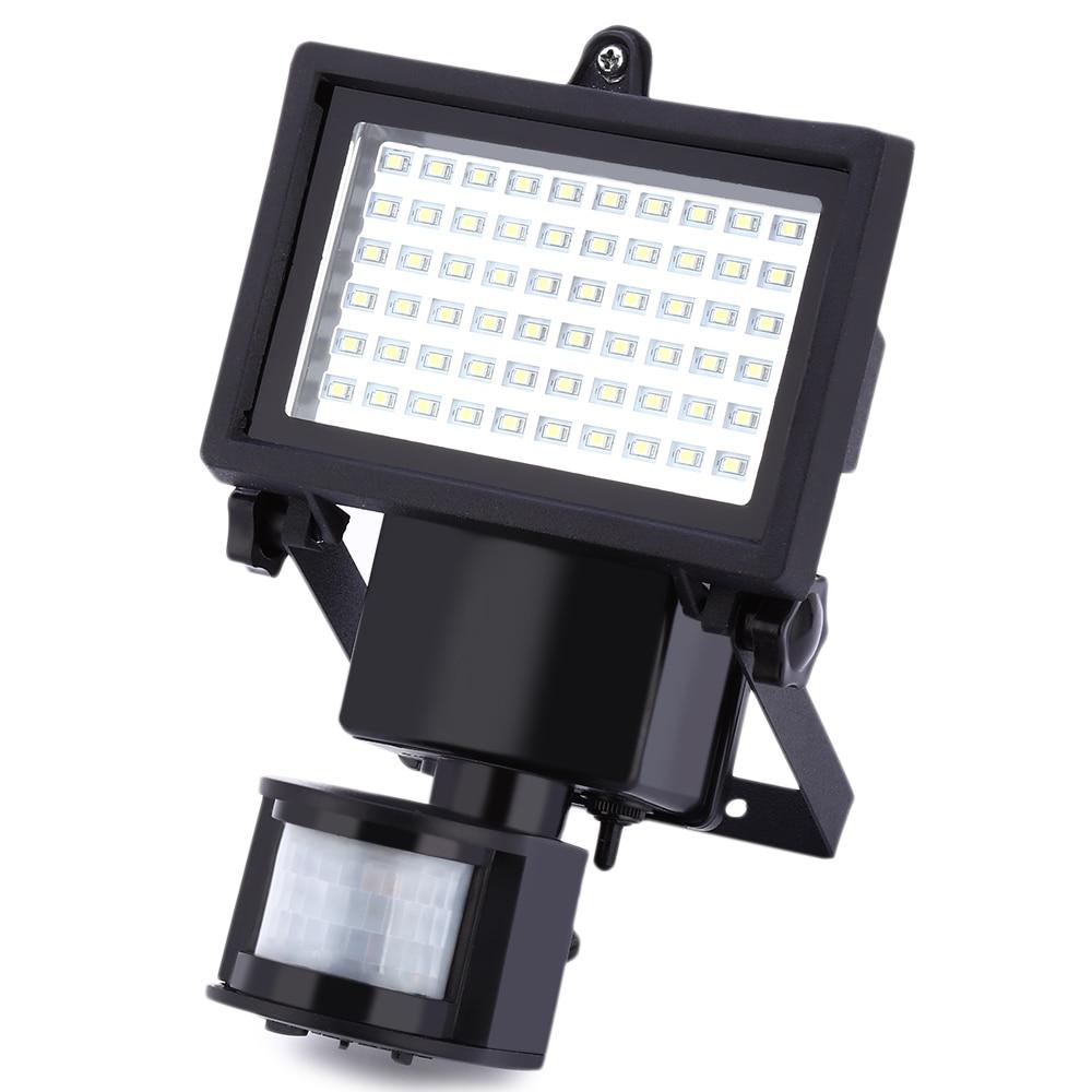 Hot sale 60 LEDs Solar Lamp Waterproof LED Solar Light lamps PIR Motion Sensor Outdoor Security led Lamp Spot Lighting lights