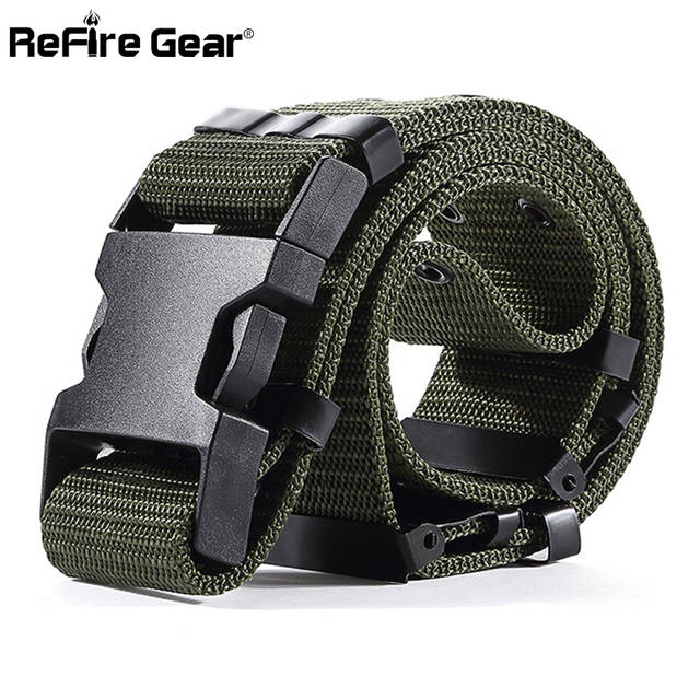 placeholder ReFire equipo SWAT nos soldados del ejército táctico cinturón  hombres equipo militar de combate cintura cinturones 3862e9d56ed1