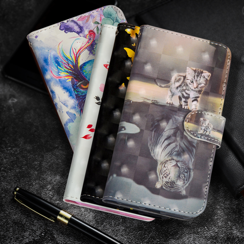 Flip Cell Phone APPLE Iphone 6 6S Iphone6 S Plus Stand Wallet PU Leather + Soft TPU Cover For Iphone 6S Plus Coque