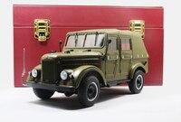 1:18 литья под давлением модели для GAZ69 СССР. Советский Союз 4 двери армейский грузовик (Premium Box Ограниченная серия) Сплав коллекция СССР газ 69