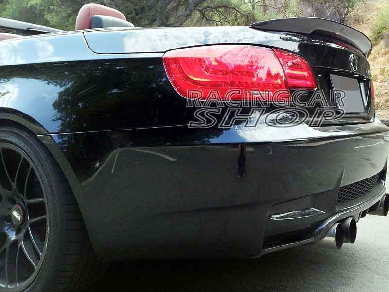 UNPAINTED P TYPE REAR TRUNK SPOILER FOR BMW E SERIES - 2007 bmw 328i convertible