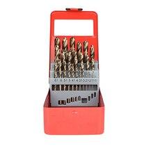 25pcs Twist Brocas Métrica 1mm a M35 13mm de Aço Cobalto Hetero Shank Broca Para Perfuração De Metais ferro Em Aço Inoxidável