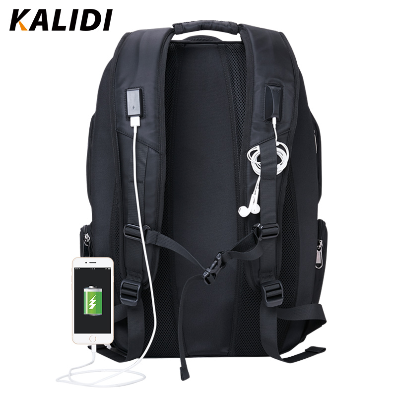 KALIDI Suya davamlı noutbuk çantası Sırt çantası, Macbook 17 - Noutbuklar üçün aksesuarlar - Fotoqrafiya 2